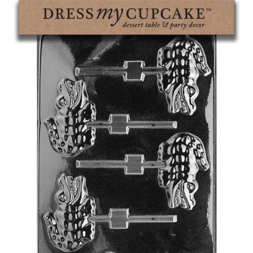 Dress My Cupcake Chocolate Candy Mold, Alligator -