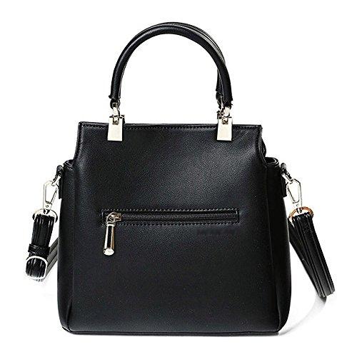 de la La Mensajería Gray Bolsa Bolsa Bags de de La Coreana Shoulder Mamá Edad Atmosphere Sra Mediana de Mensajero La Joy Bills x1w5nrPw