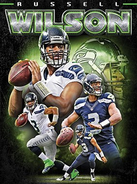 Russell Girl Costume (MasterPieces NFL Seattle Seahawks Russell Wilson Puzzle, 100-Piece)