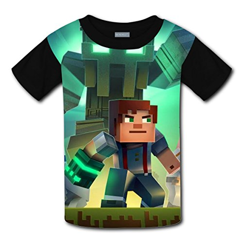 adengdda9 Minecraft 3D T-shirts for Kids Short Sleeve Tops Tee Shirt Costume