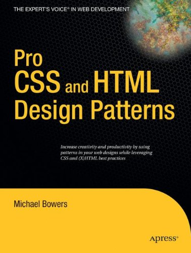 Pro CSS and HTML Design Patterns by Apress
