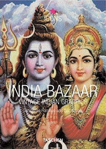 Read Online India Bazaar: Vintage Indian Graphics (Icons) pdf