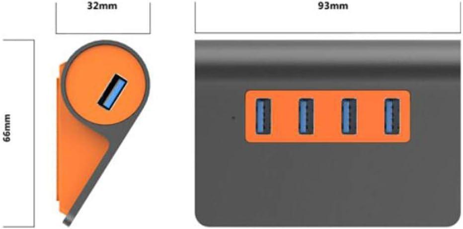 3.1 Multi-Port Expansion Hub Color : Gray Desktop Laptop One-to-Four Converter Concise Chenjinxiangou Hub
