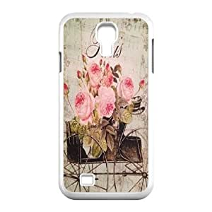 Flower Paris Classic Personalized Phone Case for SamSung Galaxy S4 I9500,custom cover case ygtg617663