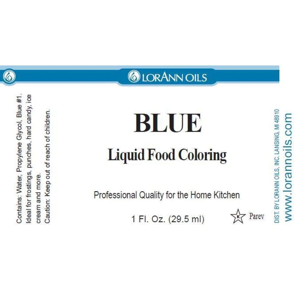 Amazon.com: Liquid Food Color 1oz-Blue: Arts, Crafts & Sewing