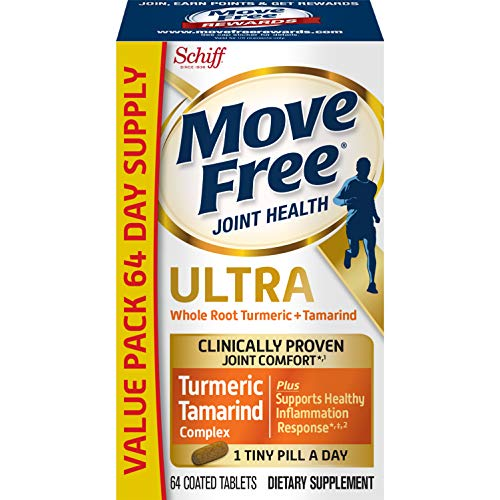Turmeric & Tamarind Ultra Joint Health Supplement, Move Free (64 count), Clinically Proven Joint Comfort In 1 Tiny Pill A Day