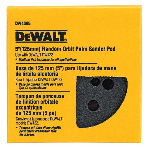 DEWALT DW4385 5-Inch PSA Pad, Medium (Fits the DW422)