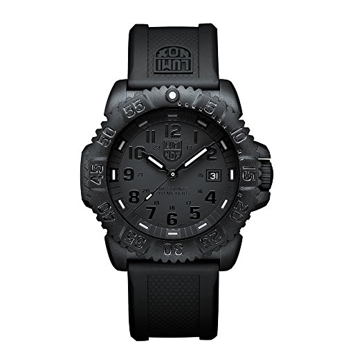 Luminox Sea Navy Seal Colormark 3050 Men's Black Face Watch A.3051.BO