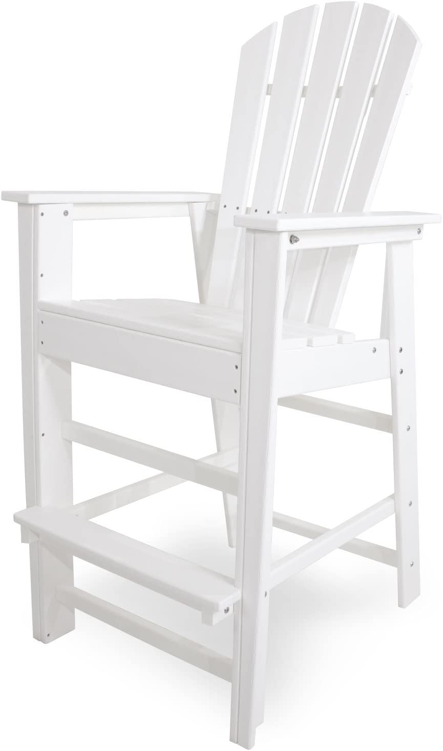 B003GW2HT6 POLYWOOD SBD30WH South Beach Bar Chair, White 51kPkPS0QXL