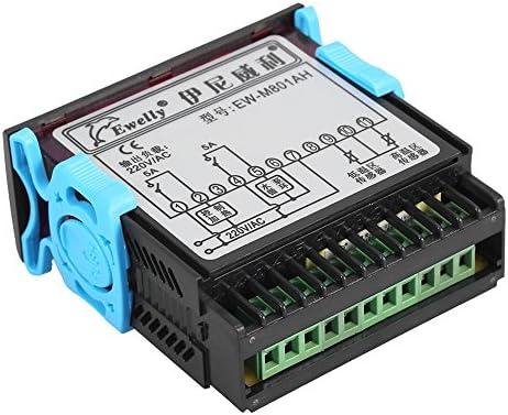Regulador de Temperatura del Calentador Inteligente de Agua Solar Termostato de Alta Precisión con Pantalla Digital del Sensor
