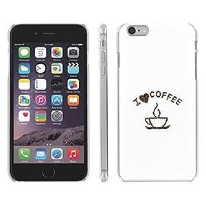 DaojieTM Generic Iphone 6 Plus 5.5 Inch I Love Coffee Snap on Slim Case