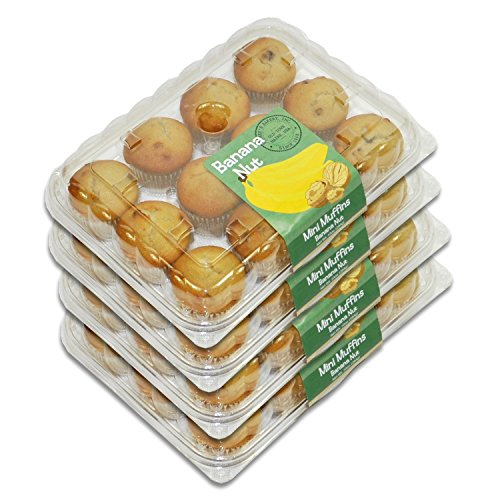 Mini Muffin Banana (Mini Muffins - 4 Packages (Banana Nut))