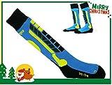 Winter Ski Socks,Boy Blue Snowboard Warm Hiking