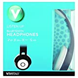 Vivitar Listen Up Bluetooth Over Ear Headphones (Black)