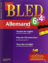 Cahier Bled - Allemand 1re année