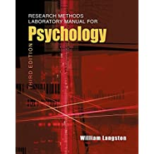 Research Methods Laboratory Manual for Psychology, Third Edition