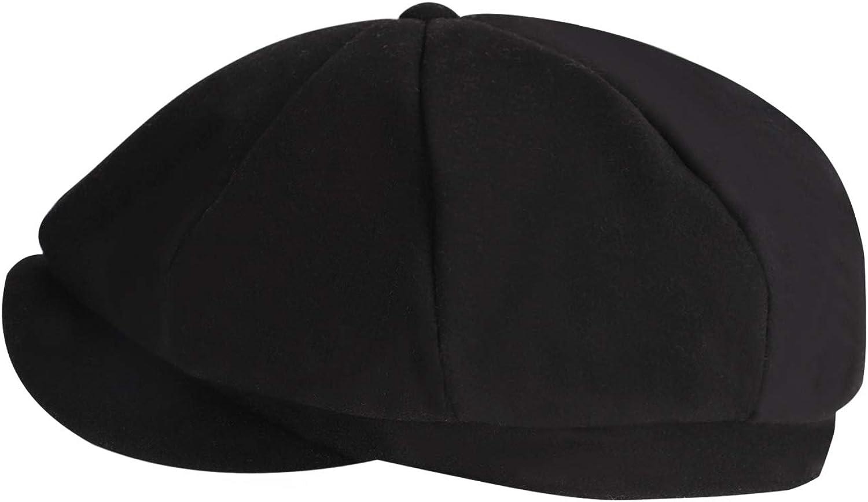 Afinder Mens Classic Leisure Ivy Caps Flat Caps Winter Windproof Baker Newsboy Caps