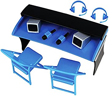 Amazon.com: COMMENTATORS PLAYSET (BLUE) - RINGSIDE COLLECTIBLES ...