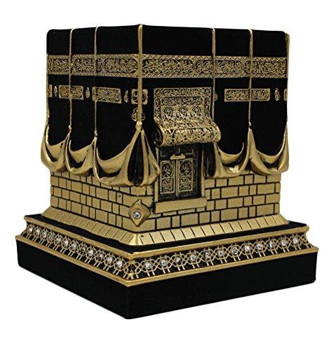 (Islamic Home Table Decor Kaba Replica Model Showpiece Bookend Eid Gift (Small,)