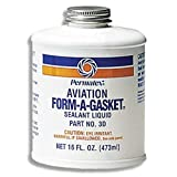 Aviation Form-A-Gasket #3 Paste-Like Sealant, 16
