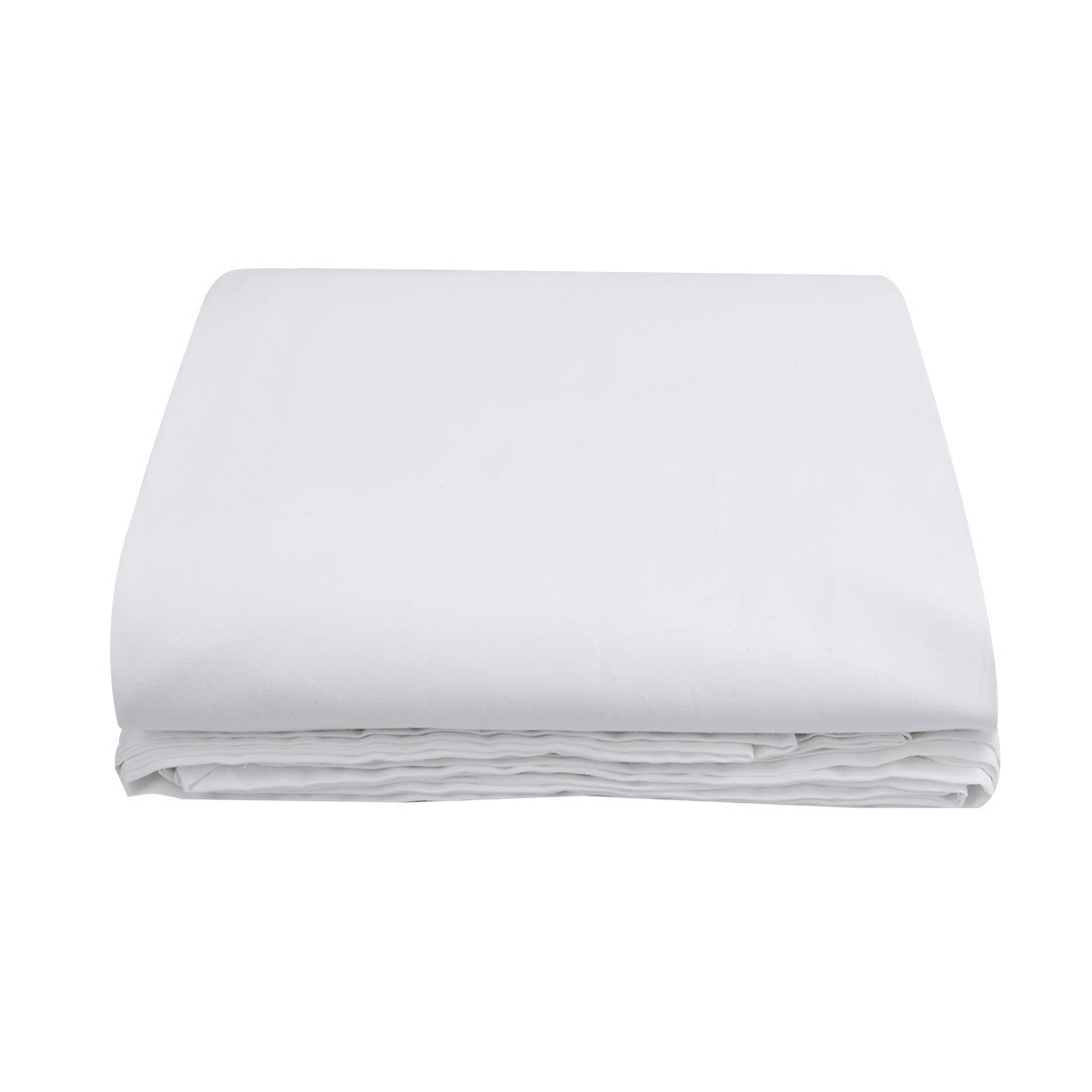 uxcell Twin Size Flat Top Bed Sheet 300 Thread Count Egyptian Cotton Fitted Sheet Sold Separately for Set Cool Feeling-100% Satisfaction Guarantee (1-Piece, Twin, White)(96 x 66 Inch)