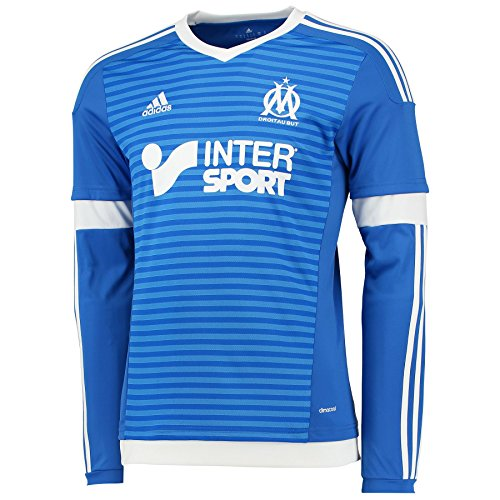 Adidas Shirt für Herren, Om 3JSY, Farbe: Blau und Weiß