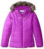 Columbia Little Girls' Katelyn Crest Jacket, Bright Plum, XX-Small (4/5)