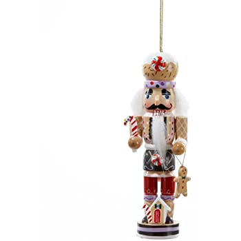kurt adler gingerbread man nutcracker wooden christmas ornament decoration