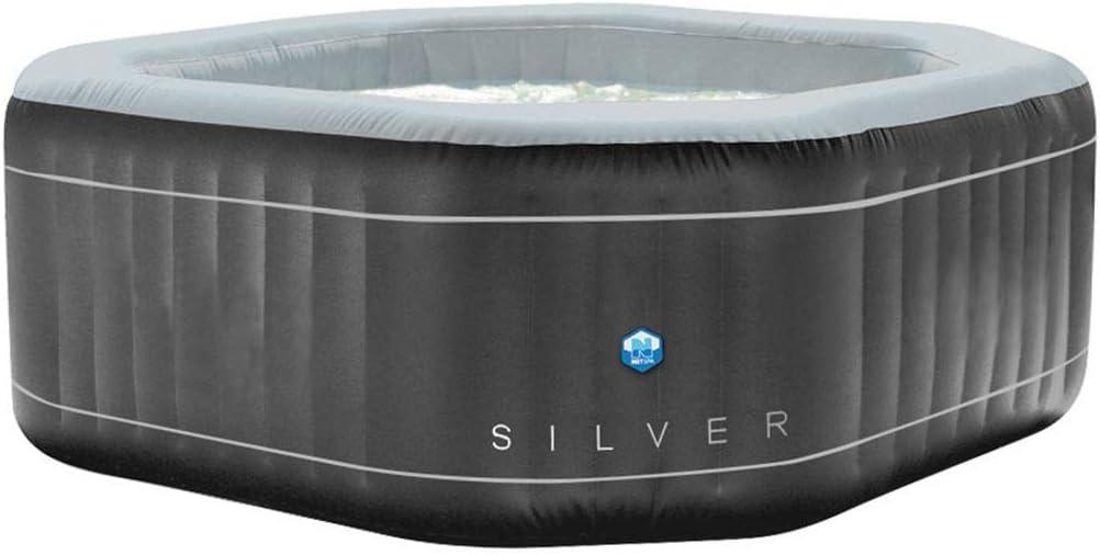 Spa Hinchable Silver -5/6 Plazas: Amazon.es: Juguetes y juegos