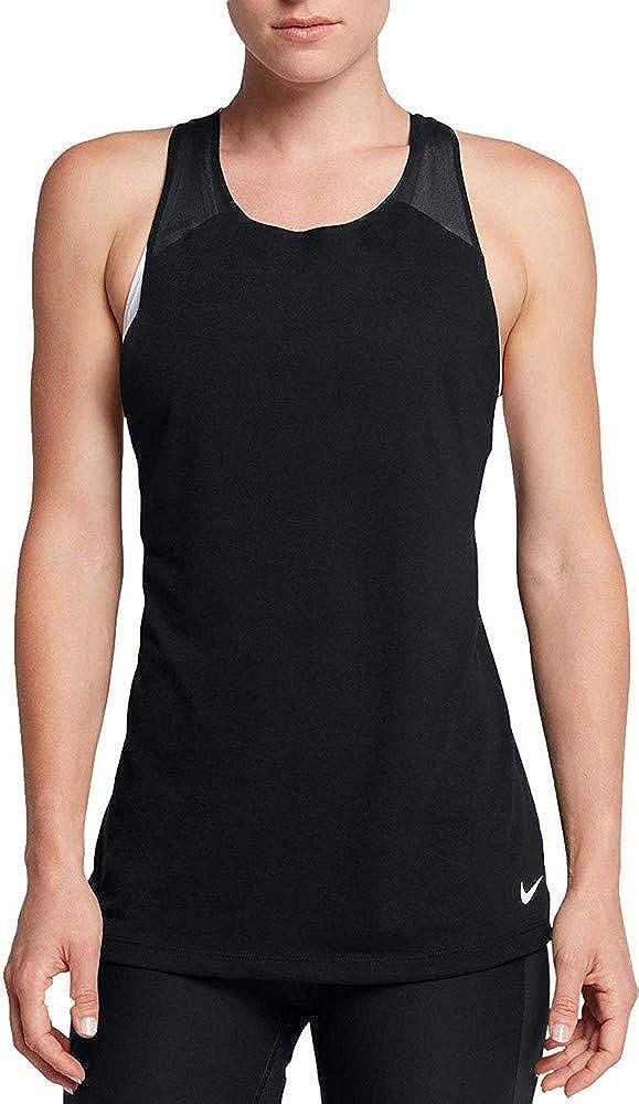 calcetines ventajoso Descifrar  Nike Women's Breathe Loose Tank Top: Amazon.co.uk: Clothing