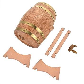 Barril de roble, Barril de roble de madera de 4 tamaños para ...