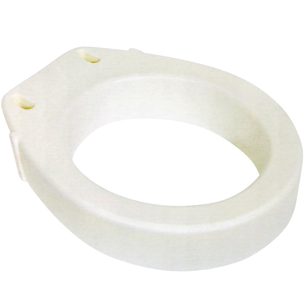 Standard Toilet Seat Riser - Easy Installation - Raises Your Seat 3.5''