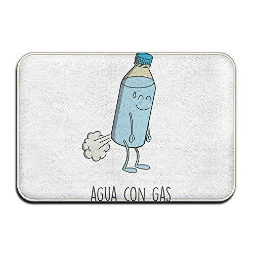 yuanqiaojingmao Agua Mineral Con Gas Designed Doormat Entran