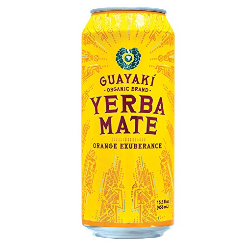 Organic Yerba Mate, Orange Exuberance, 15.5 Ounce (Pack of 12)