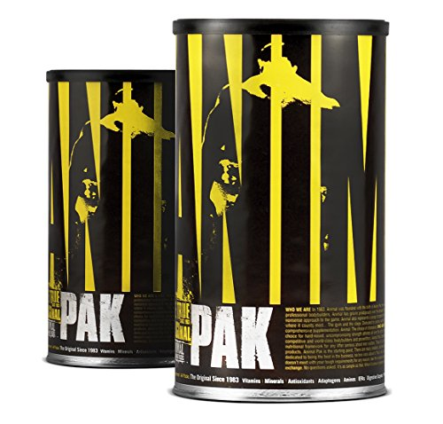 Animal Pak Stacks (Universal Animal Pak Sports Nutrition Supplement 44 Count 2-Pack)