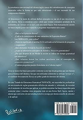 Tanfacil Estructura Gramatical Del Ingles Amazon Es Oscar