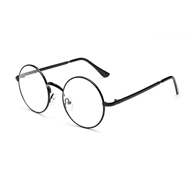 Hipster Korean Retro Round Eyeglasses Metal Frame Preppy Style Gold Fashion Myopia Round Optical Glasses Women Unisex Y3Hi10lqC