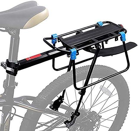 ZHIPENG Guardabarros De Bicicleta, Portaequipajes De Bicicleta De Liberación Rápida Portaequipajes Ajustable con Guardabarros Fácil De Instalar - Accesorios para Bicicletas: Amazon.es: Deportes y aire libre