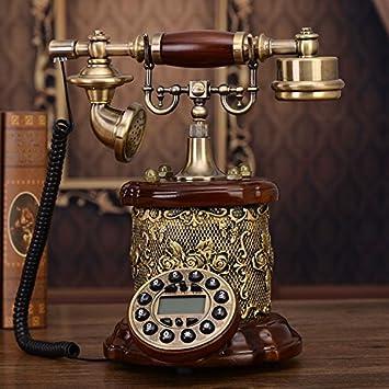 Motesuvar Teléfono Europeo Establece, Gama Alta Teléfonos, Teléfonos Antiguos, Vintage Inicio Teléfonos,