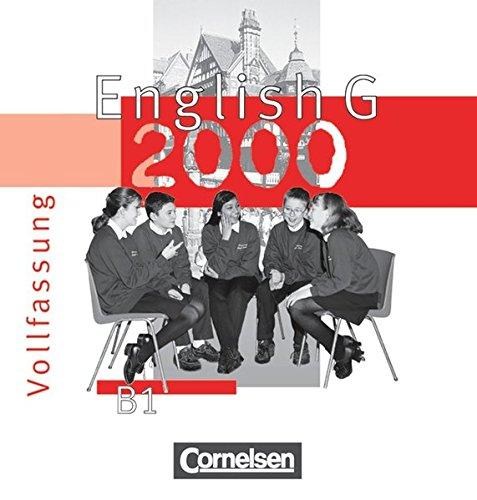 English G 2000, Ausgabe B, 2 Audio-CDs zum Schülerbuch (Vollfassung)