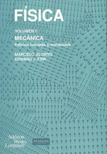 Book cover from Fisica - Volumen 1 Mecanic (Spanish Edition) by Marcelo Alonso