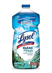 Lysol Clean & Fresh Multi-Surface Cleaner, Cool Adirondack Air, 40 oz, Case of 9
