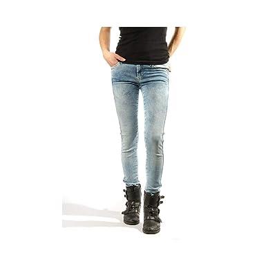 c482005fa01b Pepe Jeans Jean Skinny Aero Bleu Femme  Amazon.fr  Vêtements et accessoires
