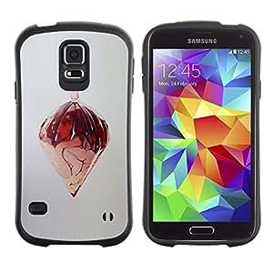 LASTONE PHONE CASE / Suave Silicona Caso Carcasa de Caucho Funda para Samsung Galaxy S5 SM-G900 / Random Abstract Art Design Structure Modern