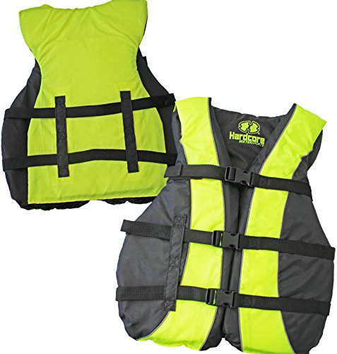Life Vest Type (High Visibility Coast Guard Approved Life Jackets for the Whole Family (Universal Yellow))