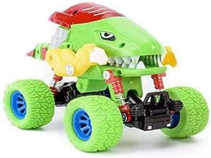 Max Fun Dinosaur Vehicle Cars Set Mini Pull Back Animal Car Toys for Boys Girls Party Favors