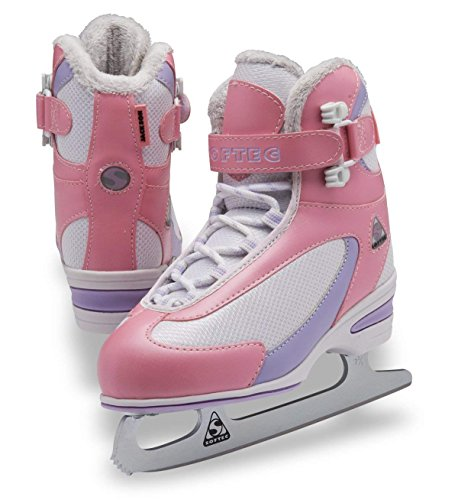 Jackson Ultima Softec Classic Junior ST2321 Kids Ice Skates - Pink, Size 10