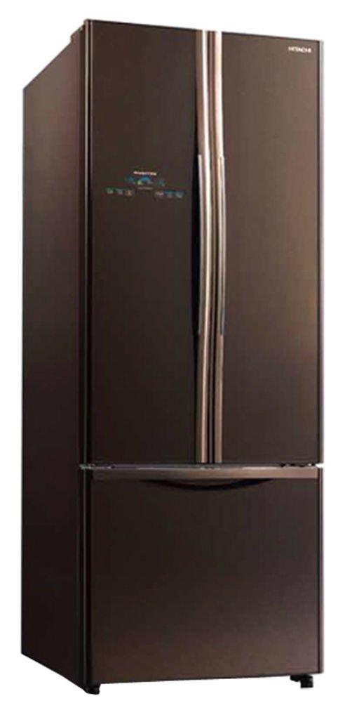 hitachi refrigerator one door. hitachi 510 l in frost-free multi-door refrigerator (r-wb550pnd2-(gbw), glass brown): amazon.in: home \u0026 kitchen one door