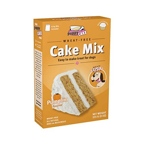 Puppy Cake Pumpkin Cake Mix and Frosting (Wheat-free) for Dogs Review