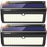 Solar Lights Outdoor, ZOOKKI 100 Led Solar Motion Sensor Light Waterproof Wireless Security